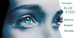 Aquellos ojos azules
